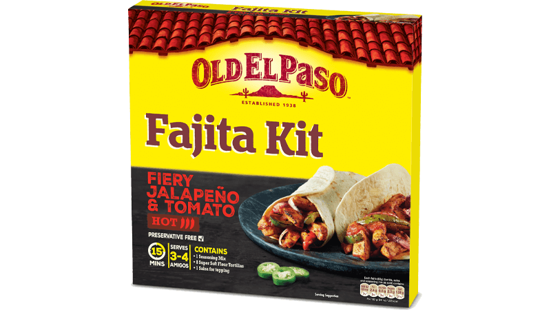 fiery jalapeno fajita kit