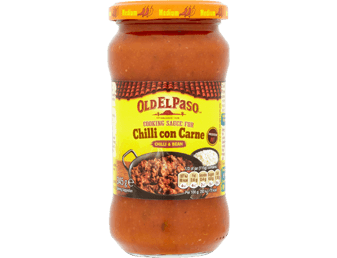 chilli con carne cooking sauce