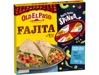 Extra Mild Super Tasty Fajita Kit