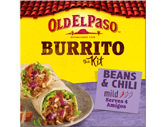 Beans And Chilli Mild Burrito The Kit