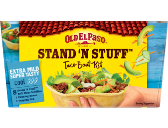 8 Extra Mild Super Tasty Cool Taco Boat Kit Sns