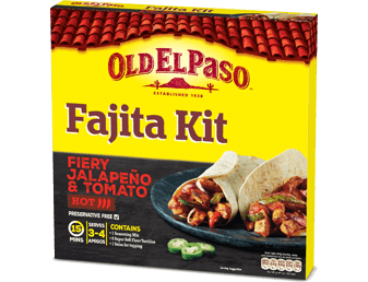 fiery jalapeni fajita kit