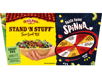 Stand And Stuff Taco Kit Smoky BBQ Mild
