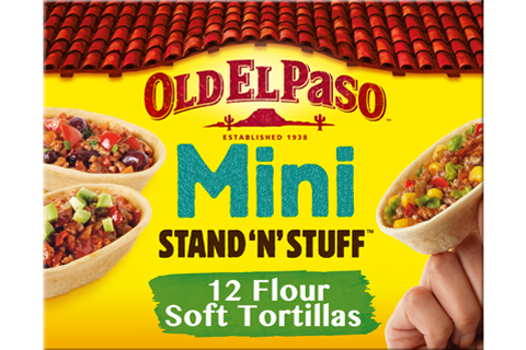 Mini Stand 'N' Stuff soft taco tortillas