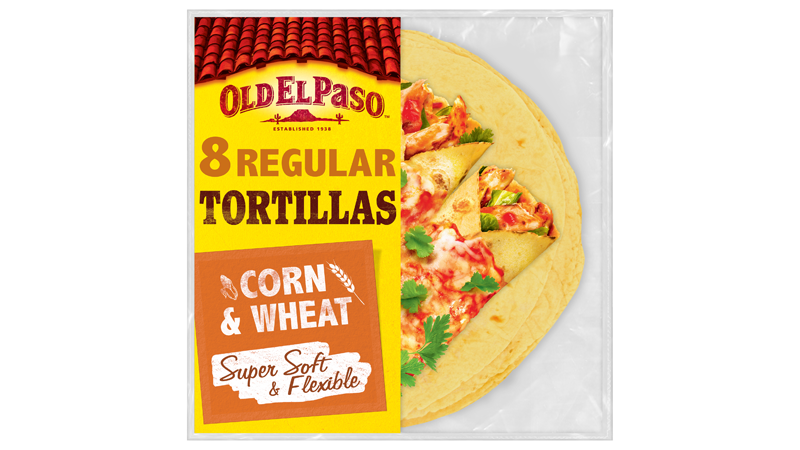 super soft flexible corn wheat eight regular tortillas