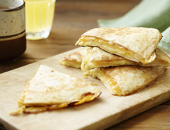 Sweet and Cheesy Breakfast Quesadilla